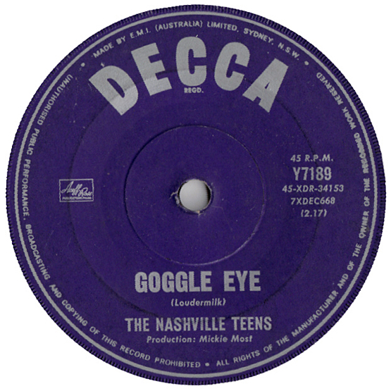 Nashville Teens Goggle Eye