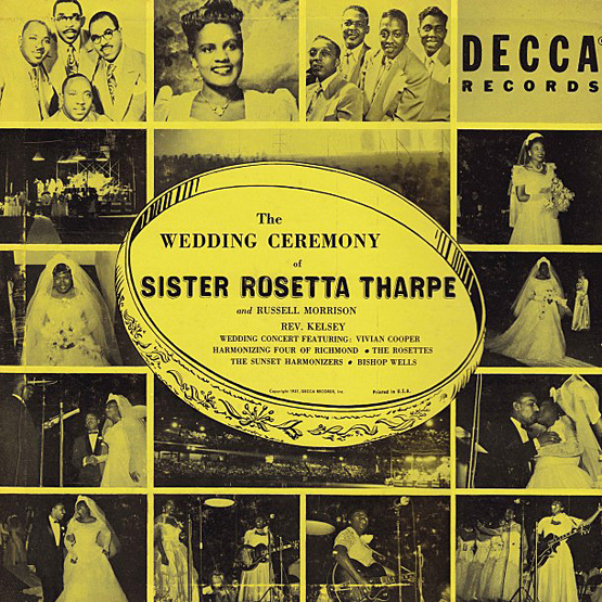 Rosetta Tharpe - wedding album