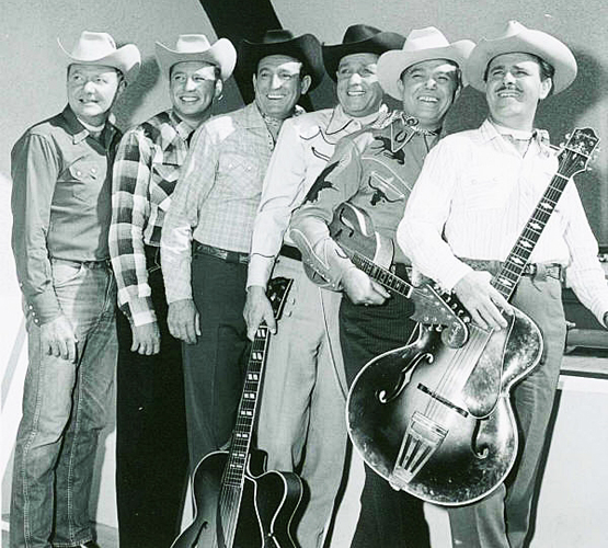 Roy Lanham with Sons of Pioneers