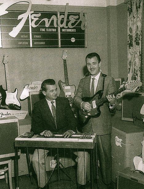 Roy Lanham with Speedy West