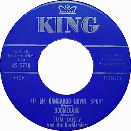 Slim Dusty King 45