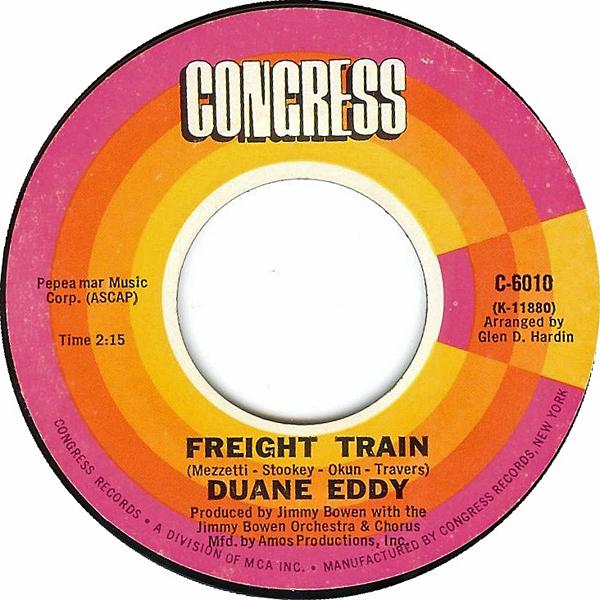 Duane Eddy Train 45