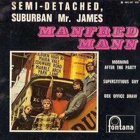 Manfred Mann 45-d
