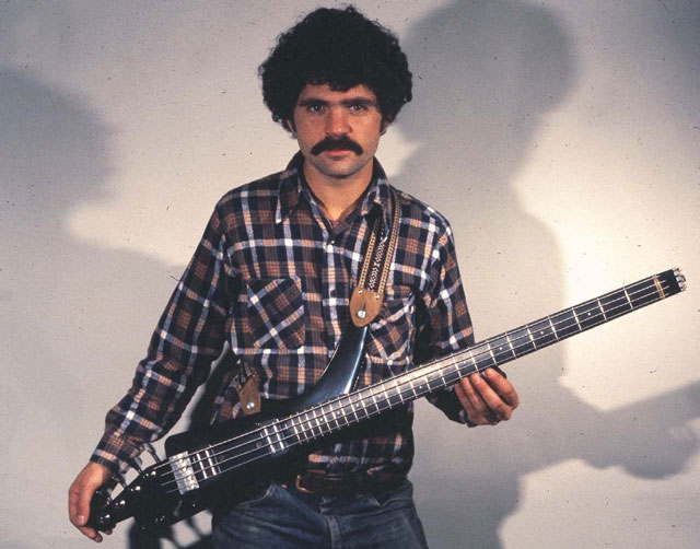 Ned Steinberger with prototype