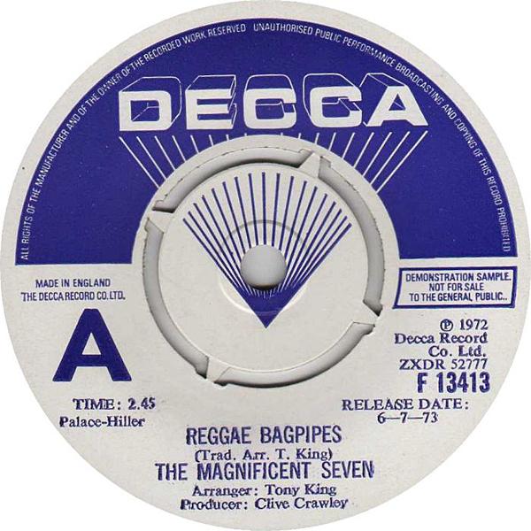 Reggae Bagpipes 45
