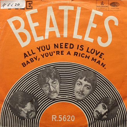 Beatles 45-c
