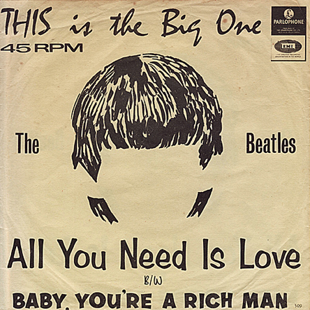 Beatles 45-h
