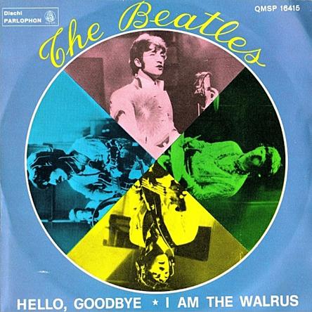 Beatles 45-l