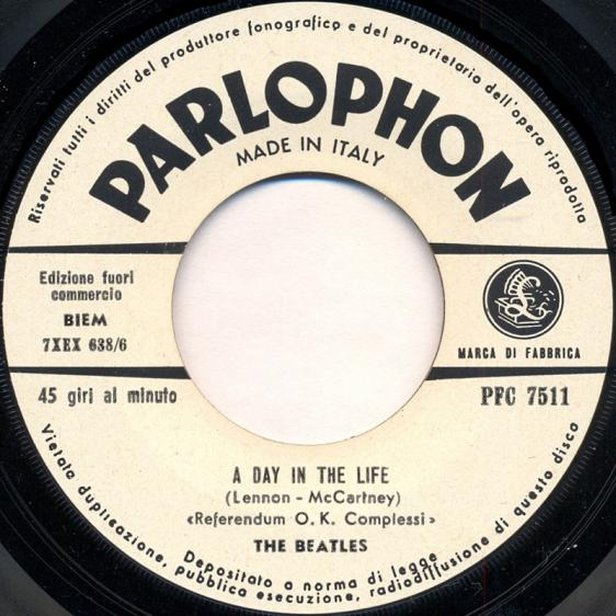 Beatles Italian 45