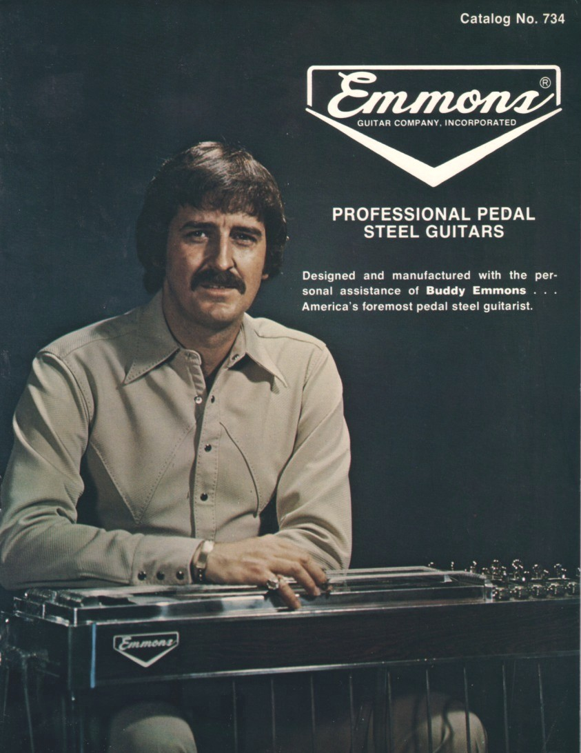 Emmons steel guitars