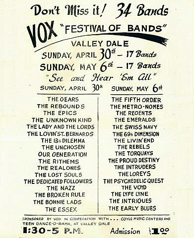 Vox Festival of Bands 1967