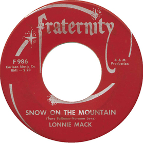 Lonnie Mack 45-1a