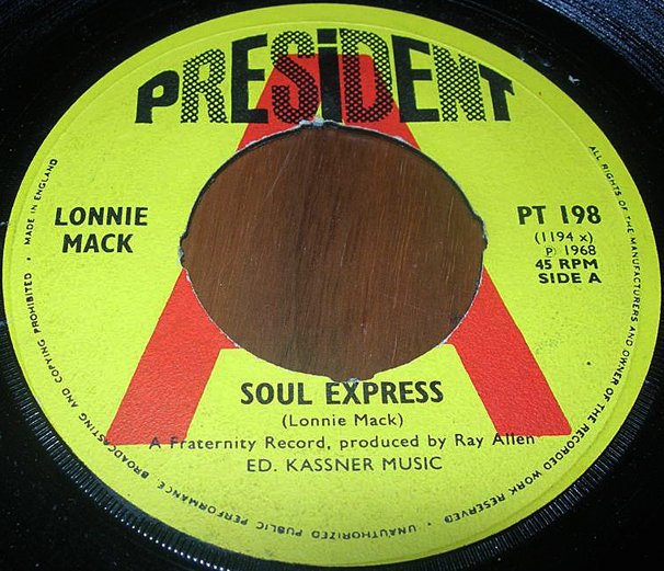 Lonnie Mack - Soul Express 45