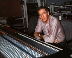 Shad O'Shea behind the board