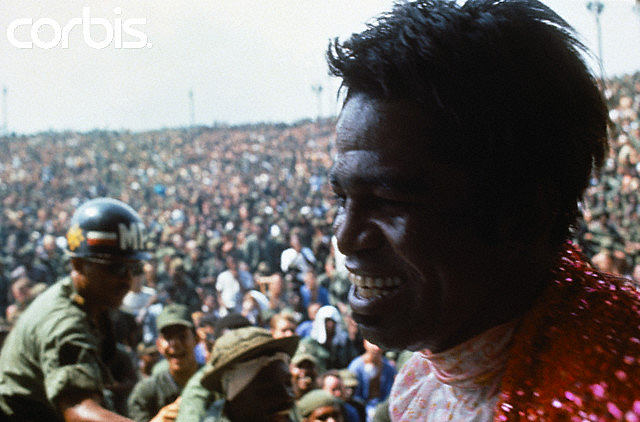 James Brown Performs for American Soldiers in Vietnam