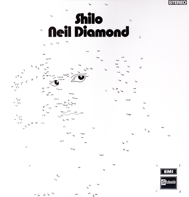Neil Diamond's connect the dots Shilo LP