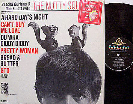 Nutty Squirrels MGM LP