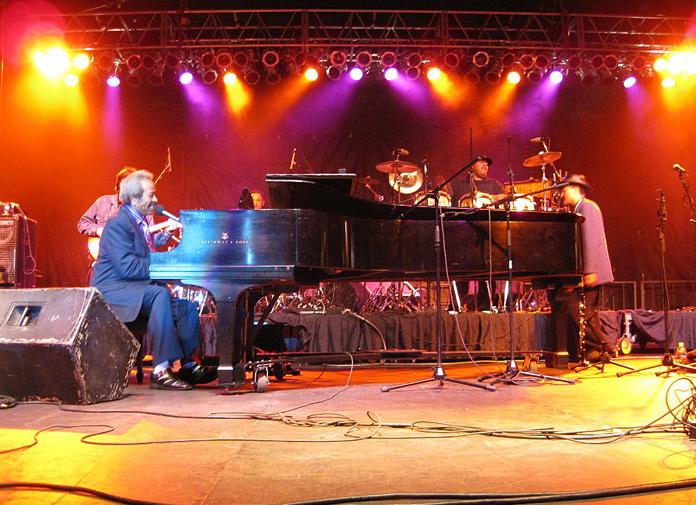 Allen Toussaint @ 2009 Jazz Festival