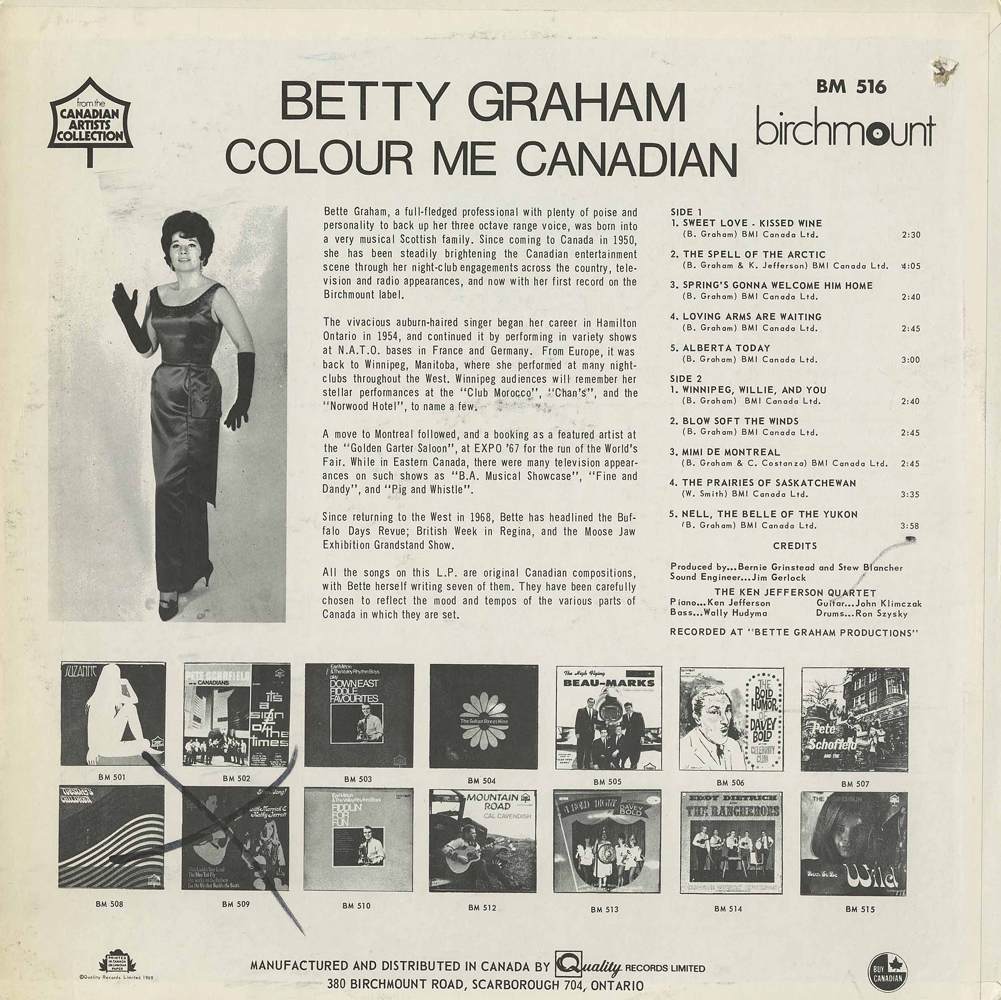 Bette Graham LP-b