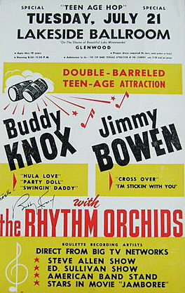 Buddy Knox & His Rhythm Orchids poster