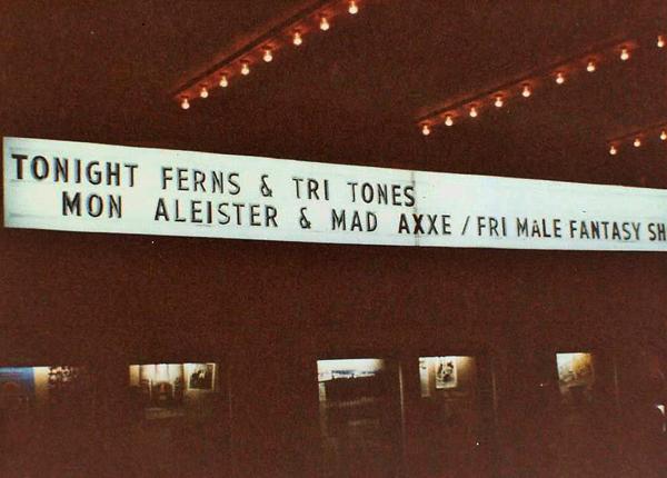 Ferns (& Tritones) @ Bogart's