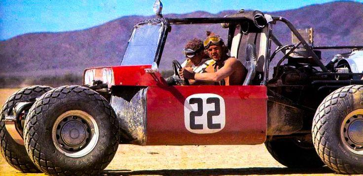 Steve McQueen & the Baja Boot
