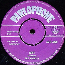 Bill Doggett UK 45