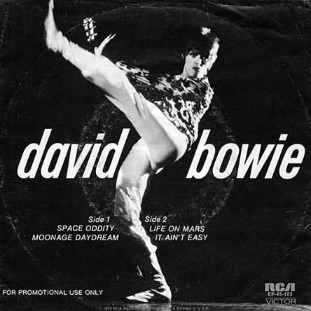 David Bowie - rare 72 promo-a