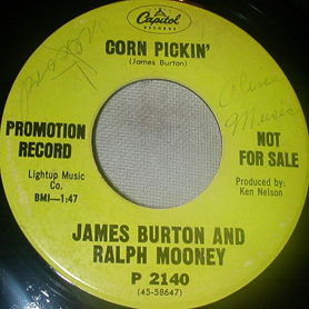 James Burton & Ralph Mooney 45-a