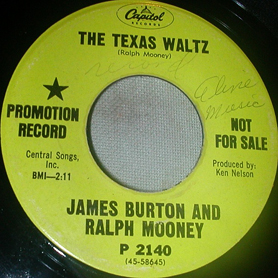 James Burton & Ralph Mooney 45-b
