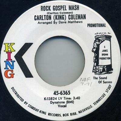 King Coleman-1971 promo 45