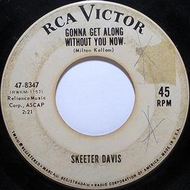 Skeeter Davis 45-a
