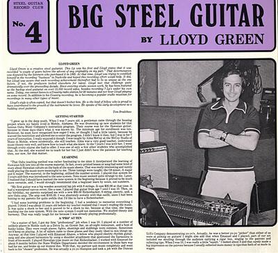Lloyd Green debut LP-bb