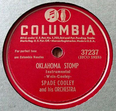 Spade Cooley 78