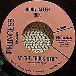 Buddy Allen Rick 45-a