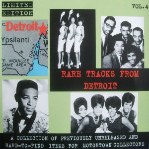 Detroit compilation CD