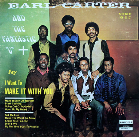 Earl Carter & Fantastic 6 LP-aa