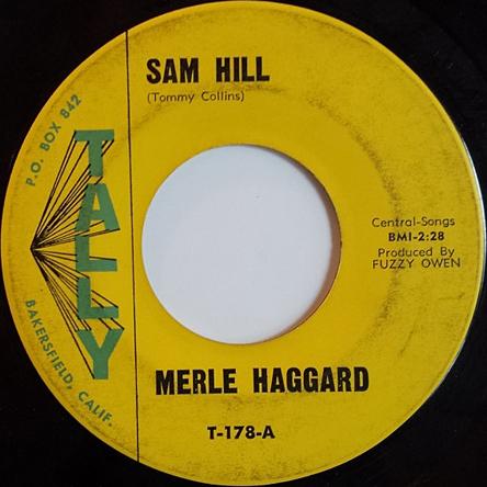 Merle Haggard 45