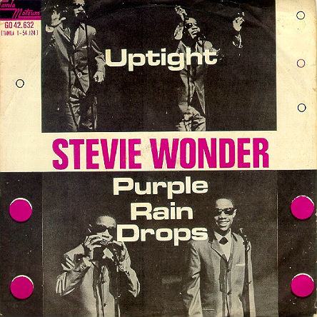 Stevie Wonder Dutch picture sleeve