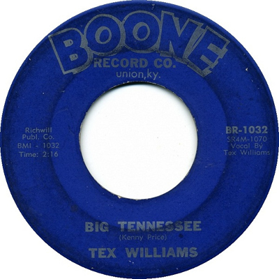 Tex Williams 45-b