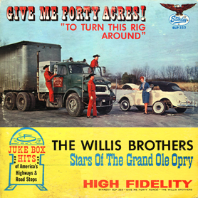 Willis Brothers LP-aa