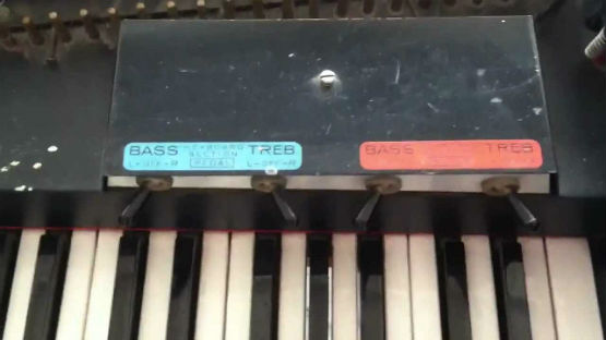 Baldwin electric harpsichord-x