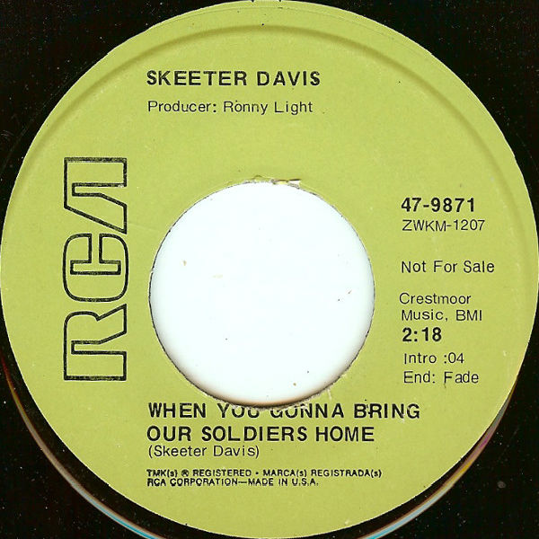 Skeeter Davis 45-c