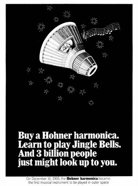 Hohner ad-astronaut