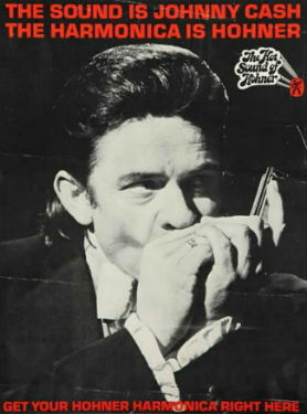 Hohner ad-johnny cash