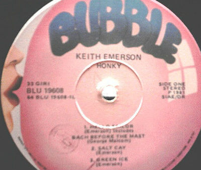Keith Emerson - bubble
