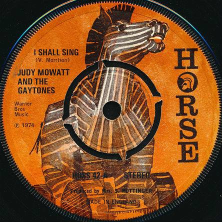 Van Morrison - Judy Mowatt 45-a