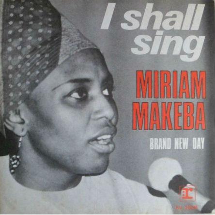 Van Morrison - Miriam Makeba 45-a
