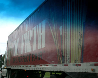 Vic Firth truck-x