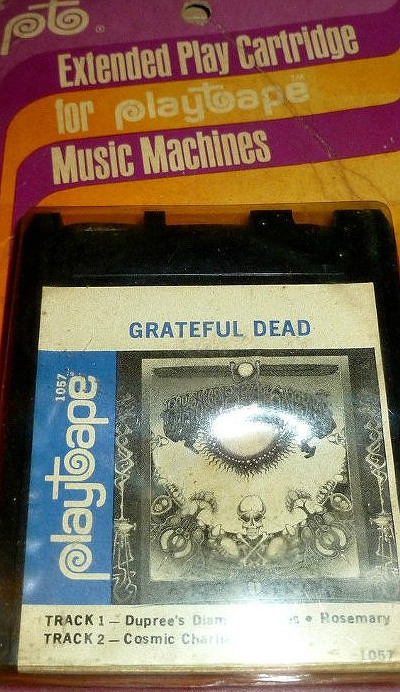 Grateful Dead extended play cartridge